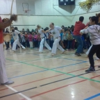 Capoeira with Canada's indigenous