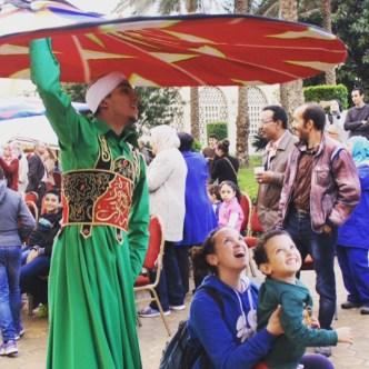 Egyptian Folk Dancing: Tanoura