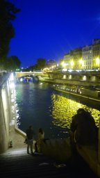 Exploring Paris at Night