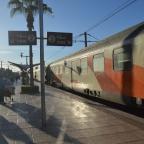 Riding a train from Marrakech to Casablanca