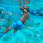 Snorkeling through Belize's Hol Chan Marine Reserve