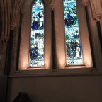 Visiting St. Patrick's cathedral in Dublin and learning about the Saint