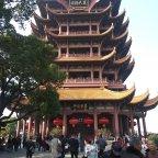 Reaching the top of the yellow crane tower-  An inside look of Wuhan, china pre coronavirus