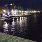 Exploring Limerick at Night and learning about Irish history